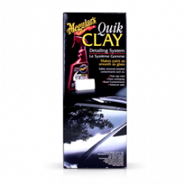 Kit Quik Clay Bar - Remove contaminações, G1116 Meguiars