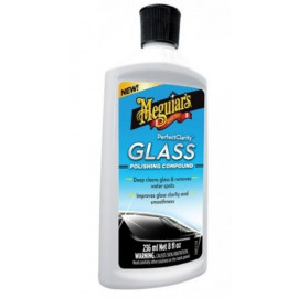 Meguiars Perfect Clarity Glass Polishing Compound Removedor de Manchas de Vidros (236ml)