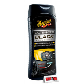 Renova Plásticos Ultimate Black, G15812 (355ml) Meguiars