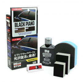 Soft99 Kit de Nano Polimento Manual Black Piano (80ml)