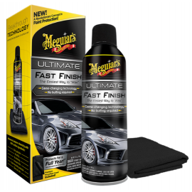 Cera Meguiars Ultimate Fast Finish Spray Aerosol - G18309 (251.4ml)