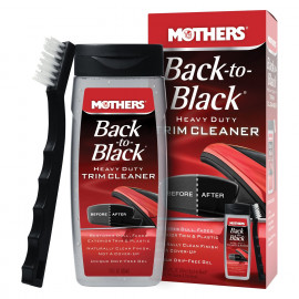 Mothers Kit Back to Black Trim Cleaner Renova Plásticos, 6141 (2 itens)