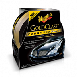 Cera de Carnaúba Meguiars Gold Class Plus Premium Paste Wax, G7014 (311g)