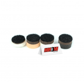 "Nobrecar Kit 4 Boinas Speed Polish de 1"" para Mini Politriz Nano Polisher"