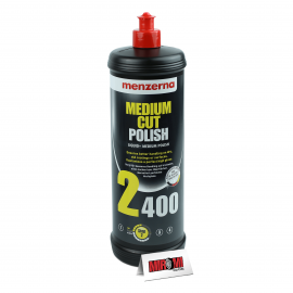 Menzerna Polidor de Refino Medium Cut Polish, 2400 (1 Litro)