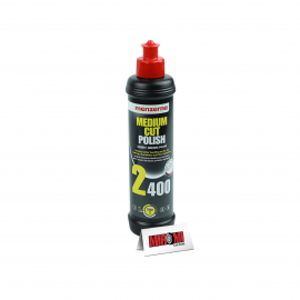 Menzerna Polidor de Refino Medium Cut Polish, 2400 (250ml)