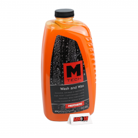 Mothers M-Tech Shampoo com Cera Wash and Wax 1:128, 25678 (1.42 Litros)